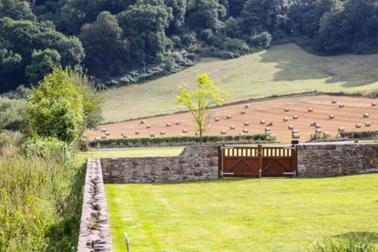 Gardens surrounding Flanesford